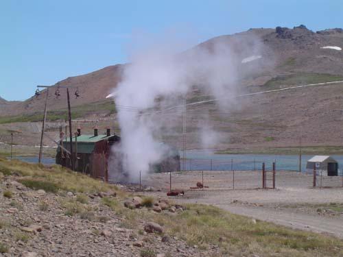 Usina geotérmica en Copahue<br>autor