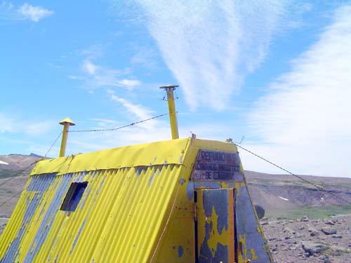 Refugio del Comando Antártico del Ejército<br>autor