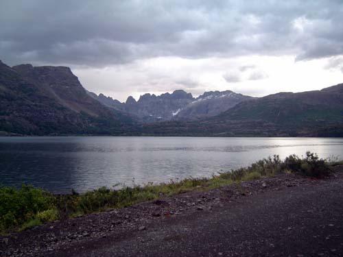 Lagunas de Epu Lauquen antes de la tormenta<br>autor