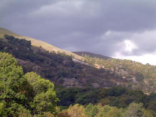Nubes tormentosas en Epu Lauquen<br>autor