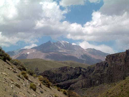 El volcán Domuyo se deja ver<br>autor
