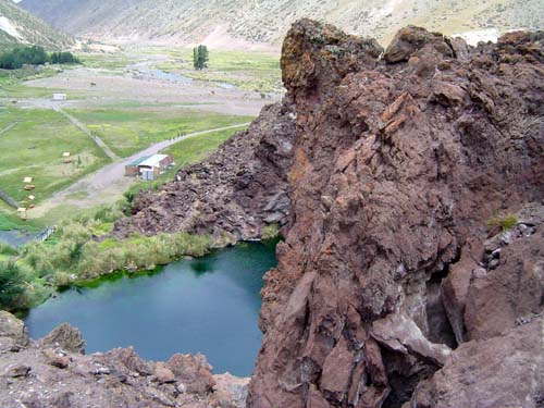 La Laguna de la Niña Encantada<br>autor